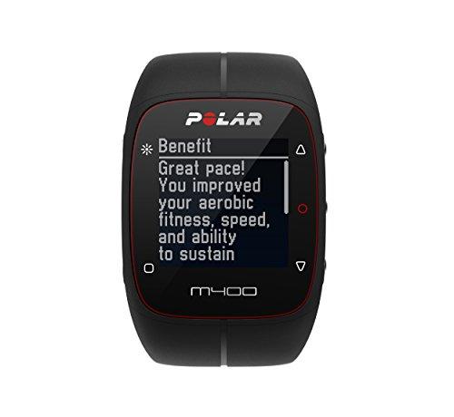 Polar M400 + sensor de frecuencia cardíaca H7- Reloj de entrenamiento con GPS integrado y registro de actividad