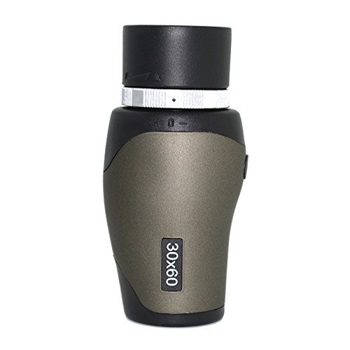 Greenwon New Hiking Bird Watching Camping 30X60 Adjustable Monocular Focus Telescope This Monocular Comes Equipped With An Adjustable Focus As Well As A Wrist Strap And Carrying Case.