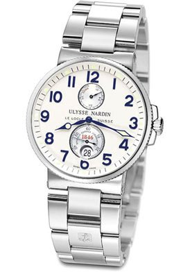 Ulysse Nardin Maxi Marine Chronometer Mens Watch 263-66-7