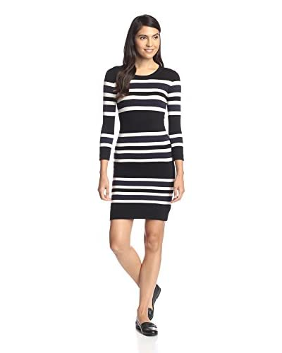 French Connection Women's Real Jag Striped Sweater Dress