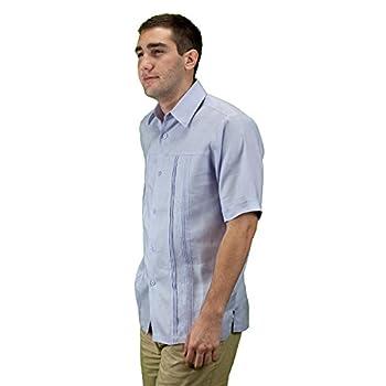 Embroidered linen wedding shirt for men.