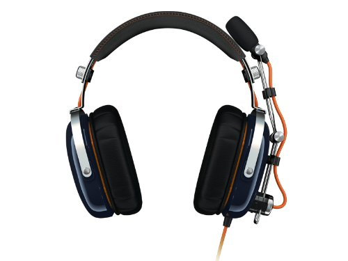 Razer Blackshark Battlefield 3 Expert 2.0 Gaming Kopfhörer blau/orange