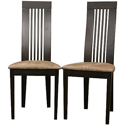 Metro Shop Farrington Dark Brown Dining Chairs (Set of 2)