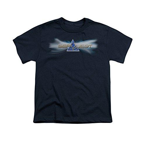 Seaquest Dsv Science Fiction Tv Series Nbc Logo Youth T-Shirt Tee