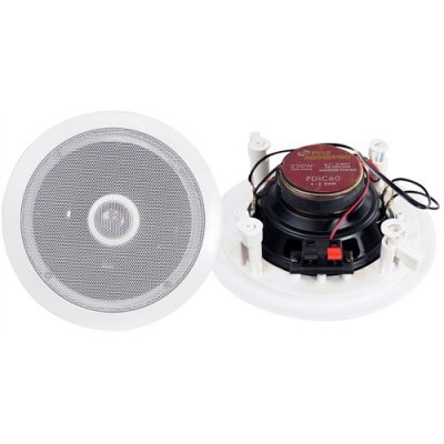 Pyle Pylepro Pdic60 6.5 In-Ceiling Speaker - 2-Way - 250W (Pmpo)
