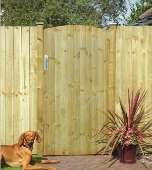 Grange Fencing Ltd T&G Ledged & Braced Gate