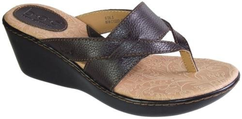 Womens BOC by Born, Ellie thong Sandal FRENCH ROAST 8 M