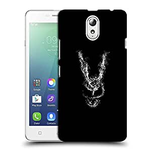 Snoogg Abstract Face Designer Protective Back Case Cover For LENOVO P1