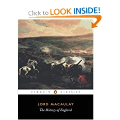 The History of England (Penguin Classics) by Thomas Babington Macaulay and Hugh Trevor-Roper