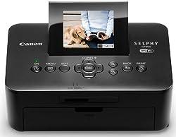 Canon SELPHY CP900 - Impresora fotográfica compacta (tamaño de impresión máximo: 10x15 cm, WiFi, portatil, 300x300 ppp) color negro