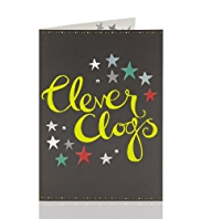 Congratulations Clever Clogs Greeting Card