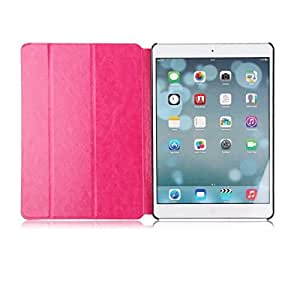 Pink Slim Smart Magnetic Flip Stand Leather Case Cover For New Apple iPad Air 5