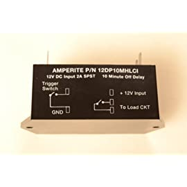 Relay/Timer module 12V/ 2A - Delay Off 10 min