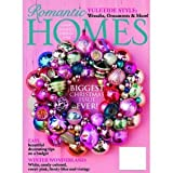 img - for Romantic Homes Magazine (Biggest Christmas Issue EVER !!, November 2012) book / textbook / text book