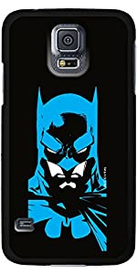 Coveroo Thinshield Cell Phone Case for Samsung Galaxy S5 - Retail Packaging - Batman Face at Gotham City Store
