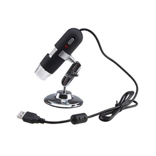 D-Click Tm High Quality 50X To 500X 8-Led Usb Digital Microscope 2.0Mp Video Camera With Hands Free Stand (500X)
