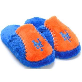 Cheap New York Mets MLB Plush Slide Slippers (B006KYQRR0)