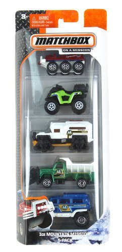 Matchbox Ice MOUNTAIN MISSION 5-pack by Mattel - 1