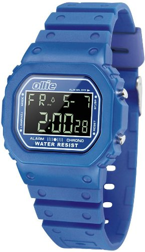 Mens Blue Digital Sport Watch with Stopwatch by Ollie OLK80003-C