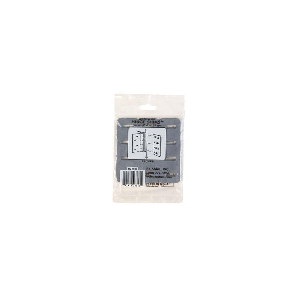 EZ Shim, Inc  HS400 Plastic Hinge Shims on PopScreen