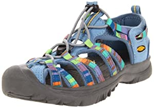 KEEN Whisper Sandal (Little Kid/Big Kid),Raya Sunrise Allure,3 M US Little Kid