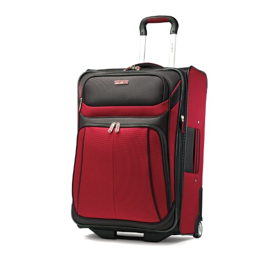 Samsonite Luggage Aspire Sport Upright 29 Expandable Bag, Red/Black, 29 Inch