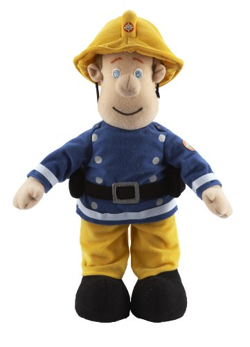 Character Options 12 inch Talking Plush Fireman Sam