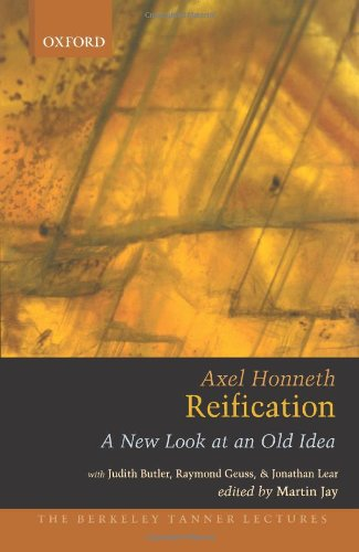 Reification: A New Look at an Old Idea (Berkeley Tanner Lectures)
