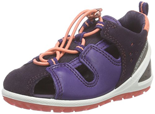 ECCO Lite Infants Sandal Stivaletti Primi Passi Classici, Unisex - Bimbi 0-24, Viola(Night Shade/Crown Jewel 58890), 23