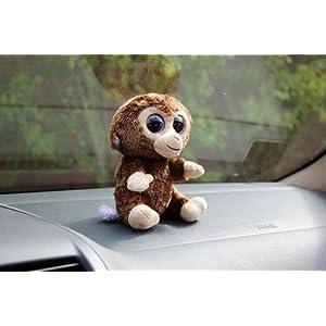 亚马逊凑单商品:Ty Beanie 大眼睛小猴子毛绒玩具 萌翻了