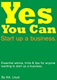 img - for Yes You Can. Start up a small business book / textbook / text book