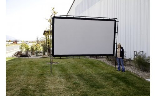 Large Portable Movie Screens : Movie projector screen large portable home theater indoor