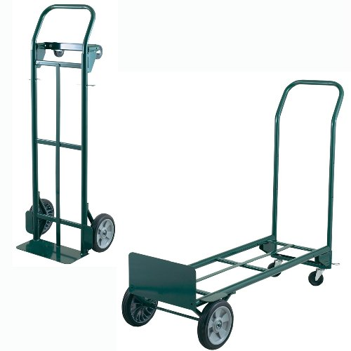 Steel Convertible Hand Truck 400-Pound Capacity