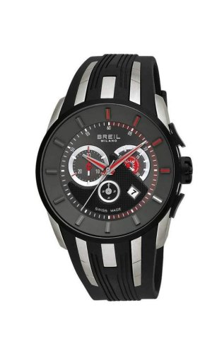 Breil Watch Milano Chr Gent Ip Black Case 45 Mm Black Str Bw0424