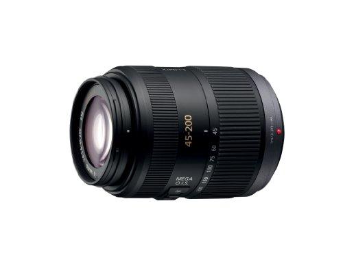 Panasonic H-fs045200e Lumix G Vario 45-200mm F4-5.6 ASPH Mega O.I.S Lens