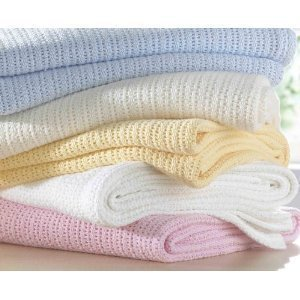 100-Cotton-Cellular-Baby-Blanket-in-Cream