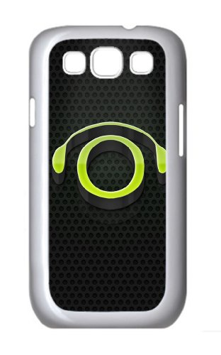 Coolest Case 3D Headphones Pc White Case/Cover For Samsung Galaxy S3 I9300