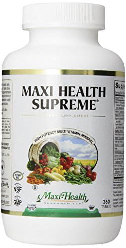 Maxi Health Supreme, 360 Tablets