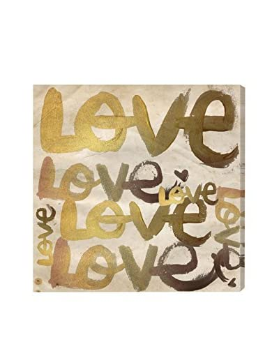 Oliver Gal Four Letter Word Canvas Art