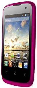 Wiko Cink+ Smartphone Android 4.1 Jelly Bean 4 Go Rose