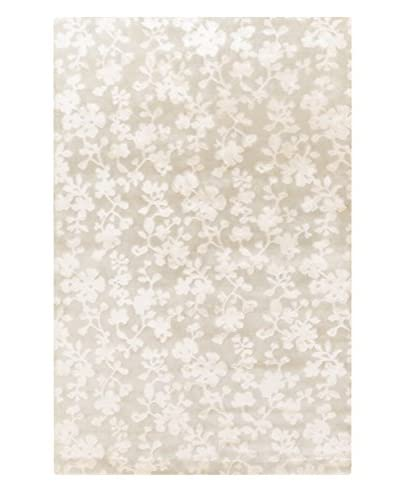 Surya Luminous Floral Hand-Knotted Rug