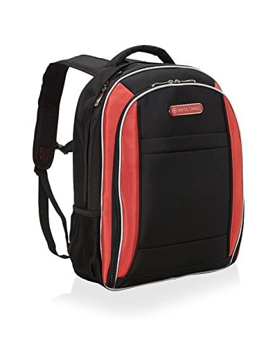 Swiss Cargo 18 SCX21 Backpack, Black/Red