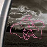 DUMBO ELEPHANT Pink Decal DISNEY Car Truck Window Pink Sticker