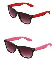 Benour BENCOM001 Combo Unisex Sunglasses