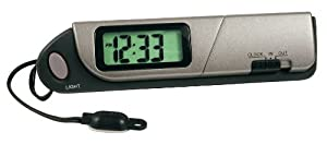 Custom Accessories 11058 Indoor/Outdoor Thermometer and Clock