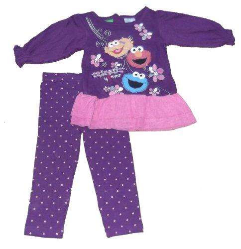 Sesame Street Infant/Toddler 2Pc Dress Legging Set (2T) front-80342