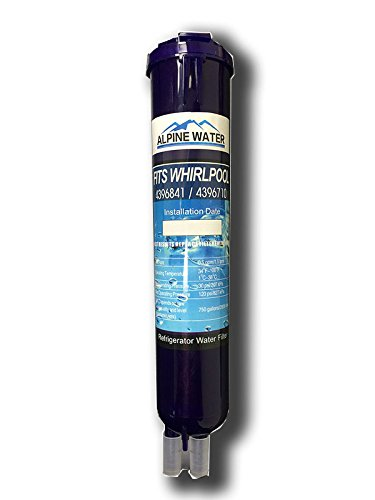 Cool Product Water Filter, Compatible with PUR, Kenmore, Whirlpool, Sears 4396710, 469020, and W10186667 models, 1 pack (Water Filter Whirlpool Pur compare prices)