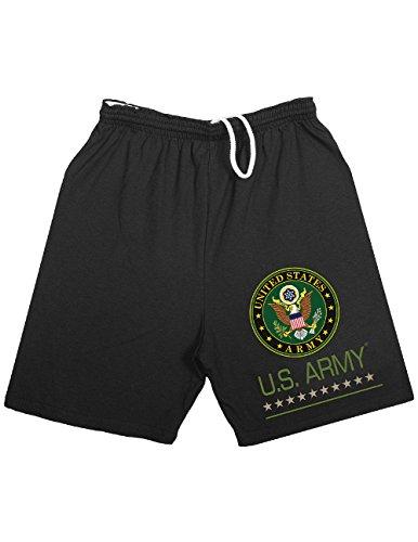 US-Army-Military-Emblem-USA-Logo-Jogging-Running-Shorts