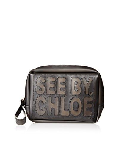 See by Chloé Women's Logo Pouch, Black