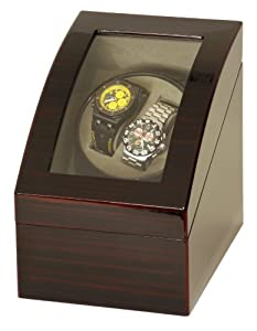 Belocia double watch winder with Japanese Mabuchi motor.